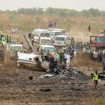 В столице Нигерии упал военный самолет